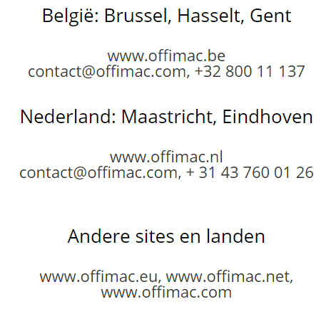 ccgroup.be contact NL